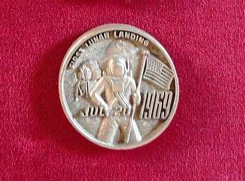 Balfour Space MedalsApollo117201969