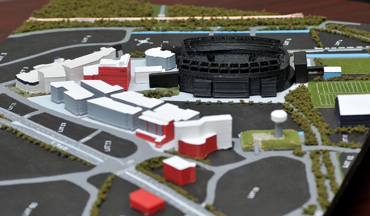 3D Gillette Stadium Model