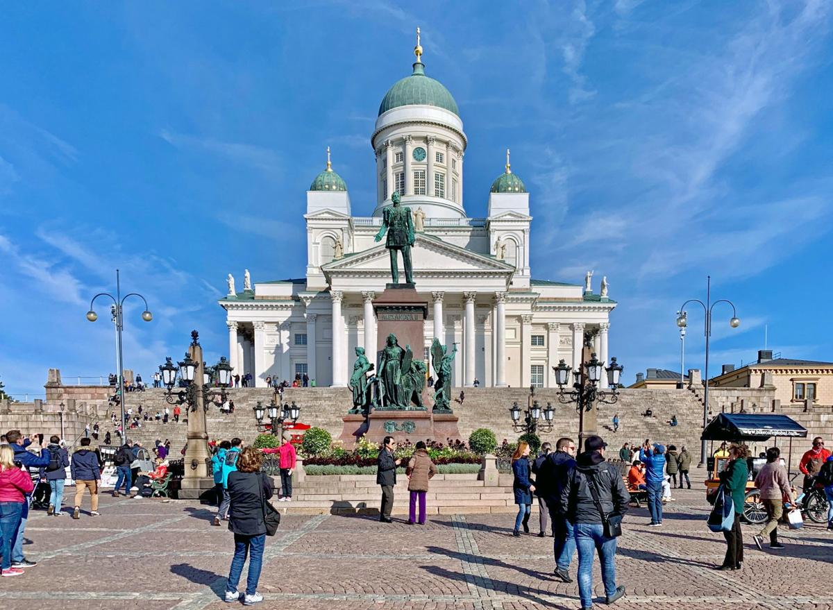 Helsinki Cathedral, Finnish Evangelical Lutheran Church, Helsinki, Finland