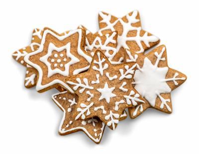 food clip christmas gingerbread cookies