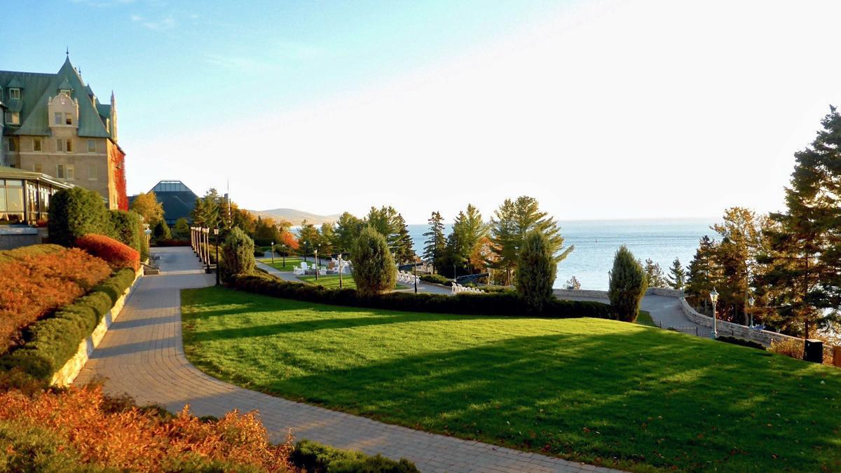 Manoir Richelieu overlooking the St. Lawrence River