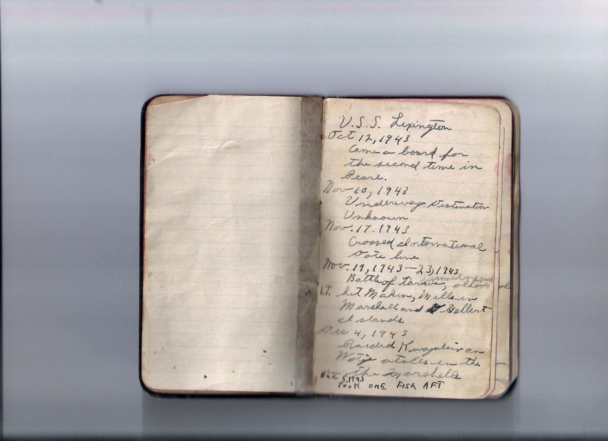 WWII diary