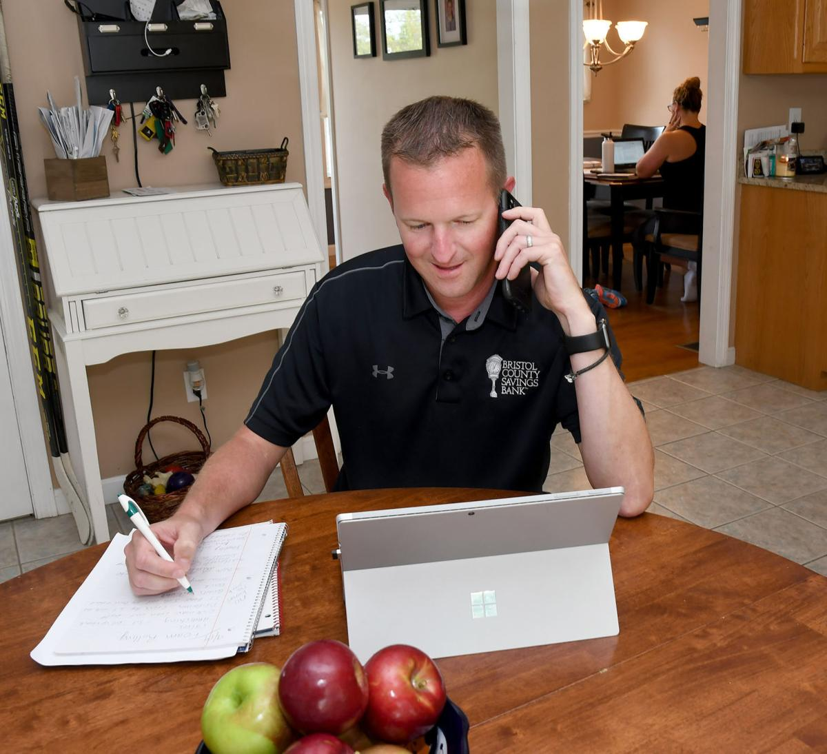 Bradley, Jeff Work at Home