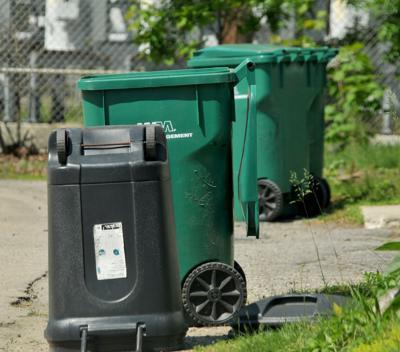 City Recycling Bins