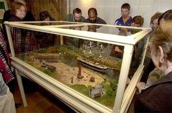 Ship model a tribute