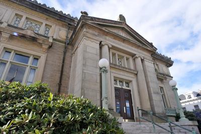 Attleboro Library Exterior