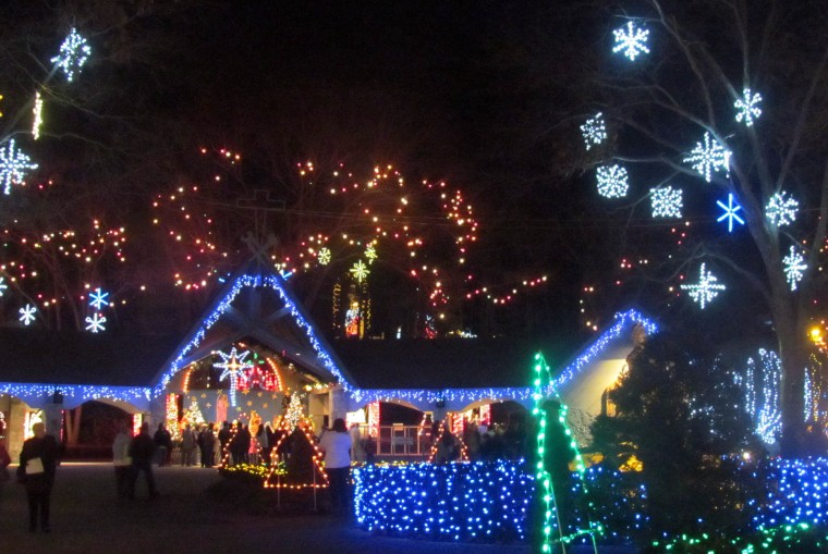 Festival of Lights at LaSalette Shrine in Attleboro through the ...