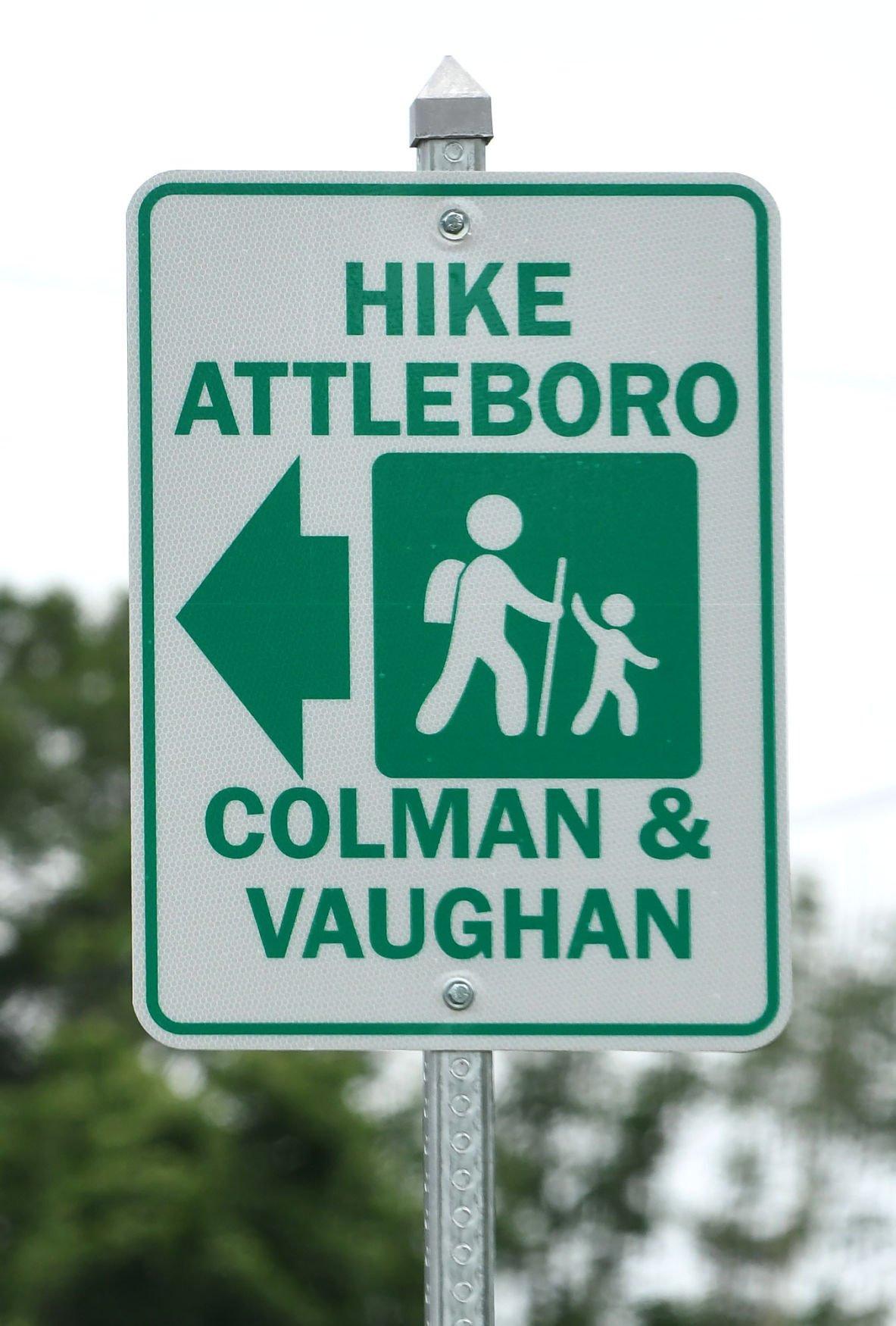 Hike Attleboro Sign