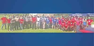 Volunteers stage massive clean-up to begin SCYMAC Field overhaul
