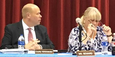 Sussex County Administrator's proposed fiscal 2021-2022 budget