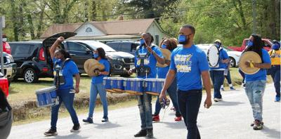 Surry hosts surprising spring homecoming parade