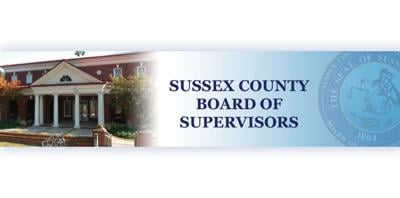 Sussex County Board of Supervisors' reorganization meeting Thursday