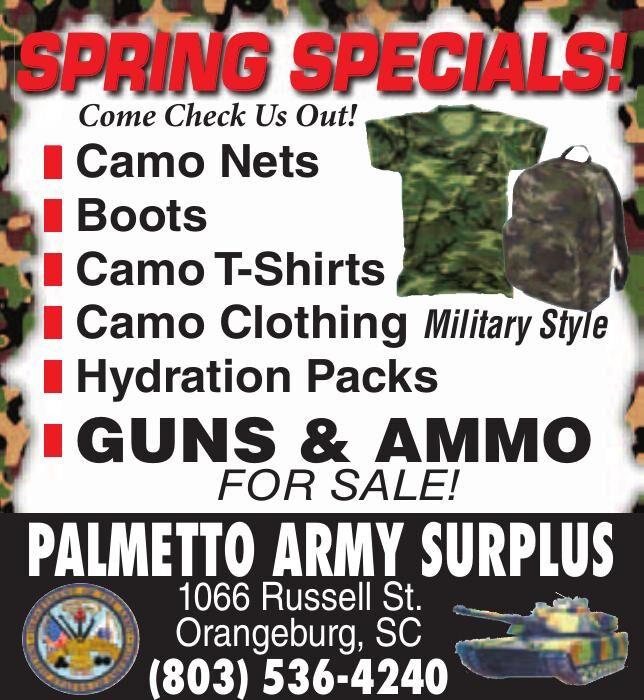 Palmetto Army Surplus/FA