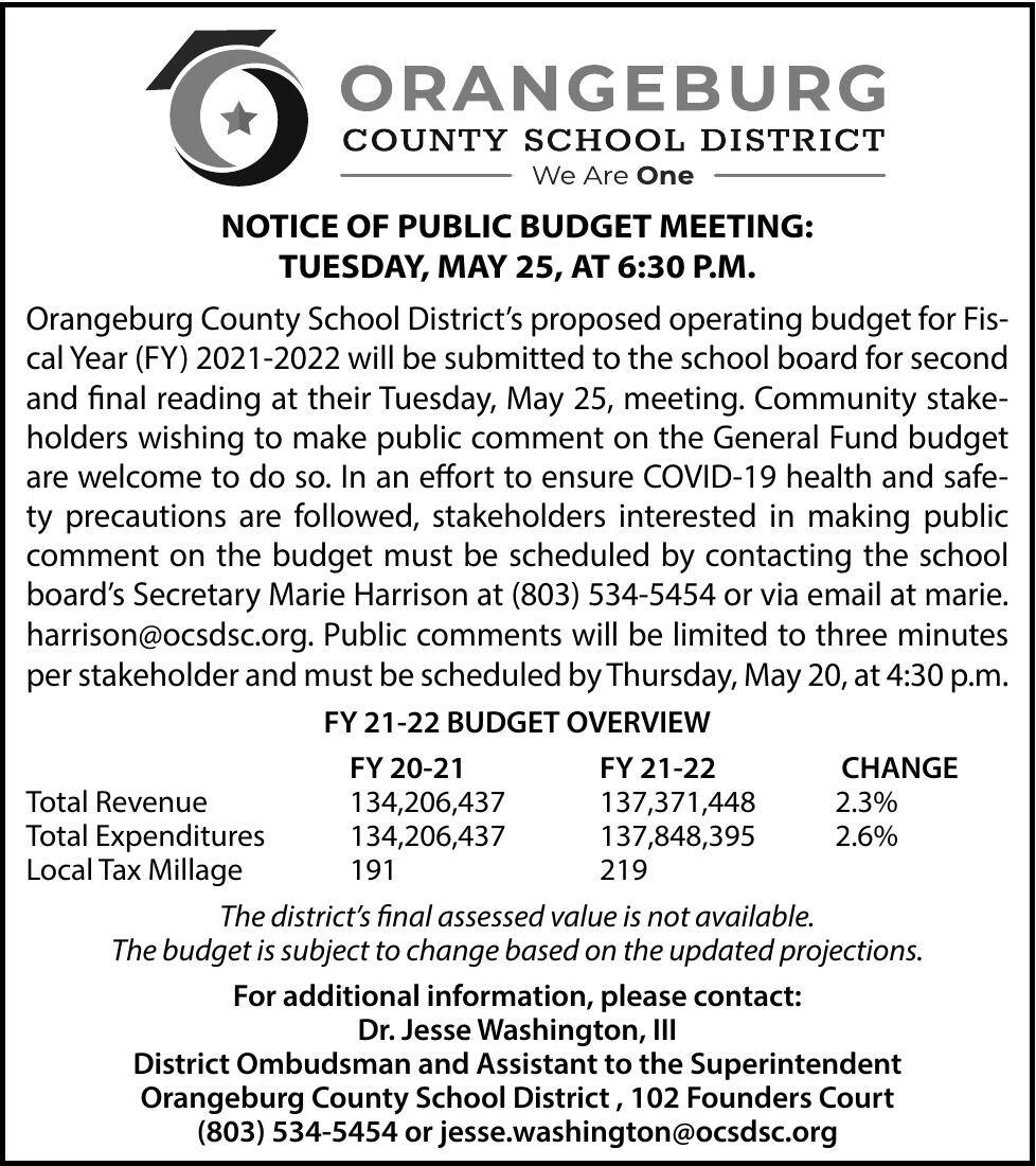 Orangeburg School District/FA