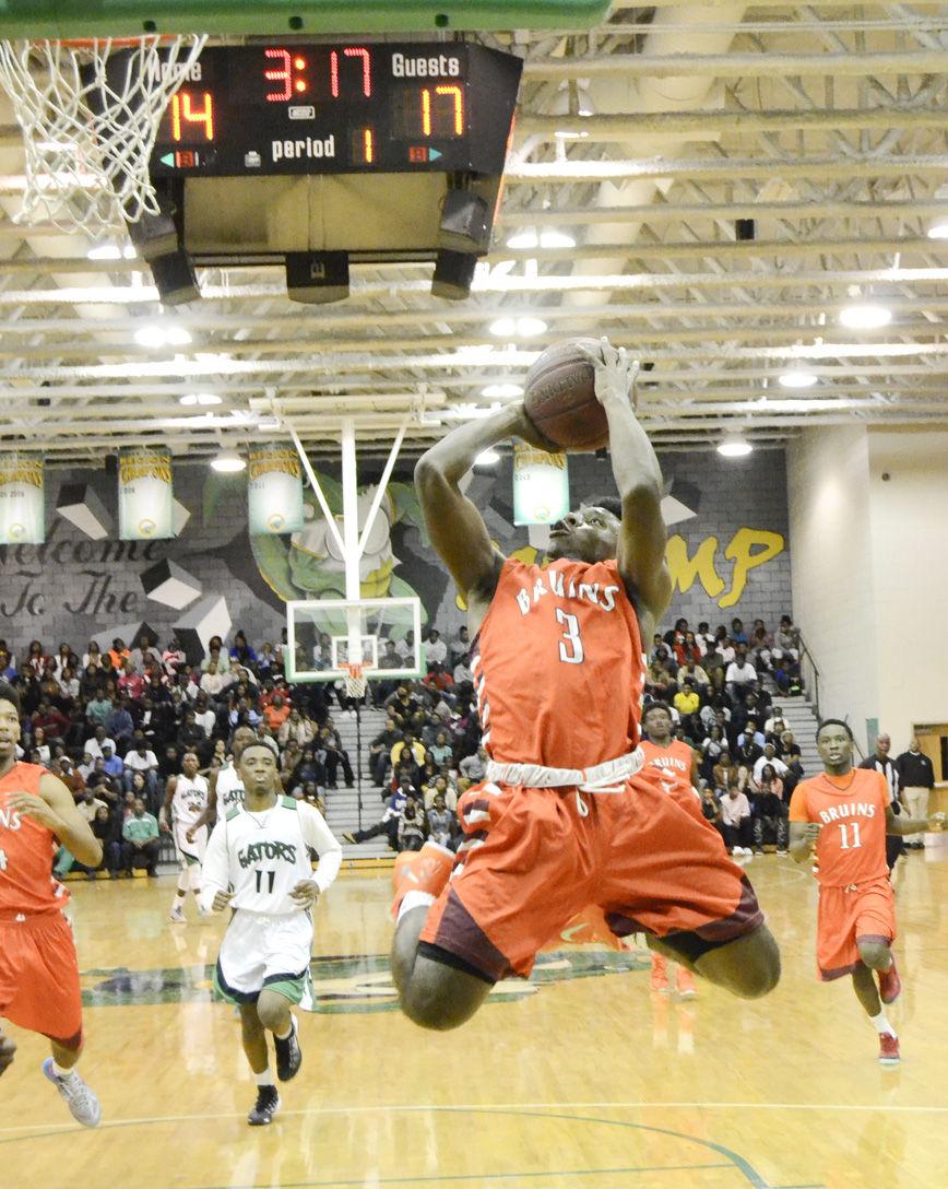 Orangeburg-Wilkinson at Lake Marion boys basketball 120514