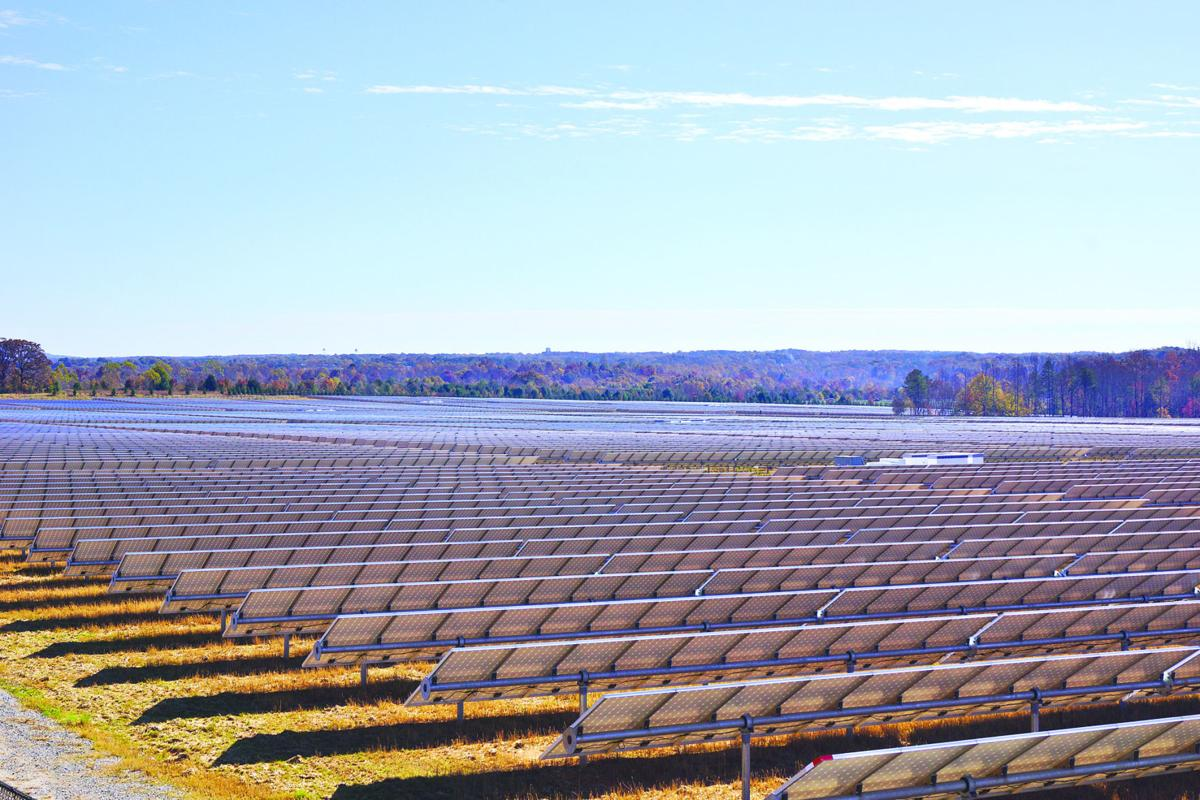 LIBRARY Solar farm illustration