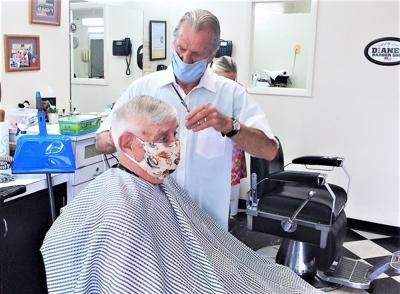 Coronavirus Barber Shop