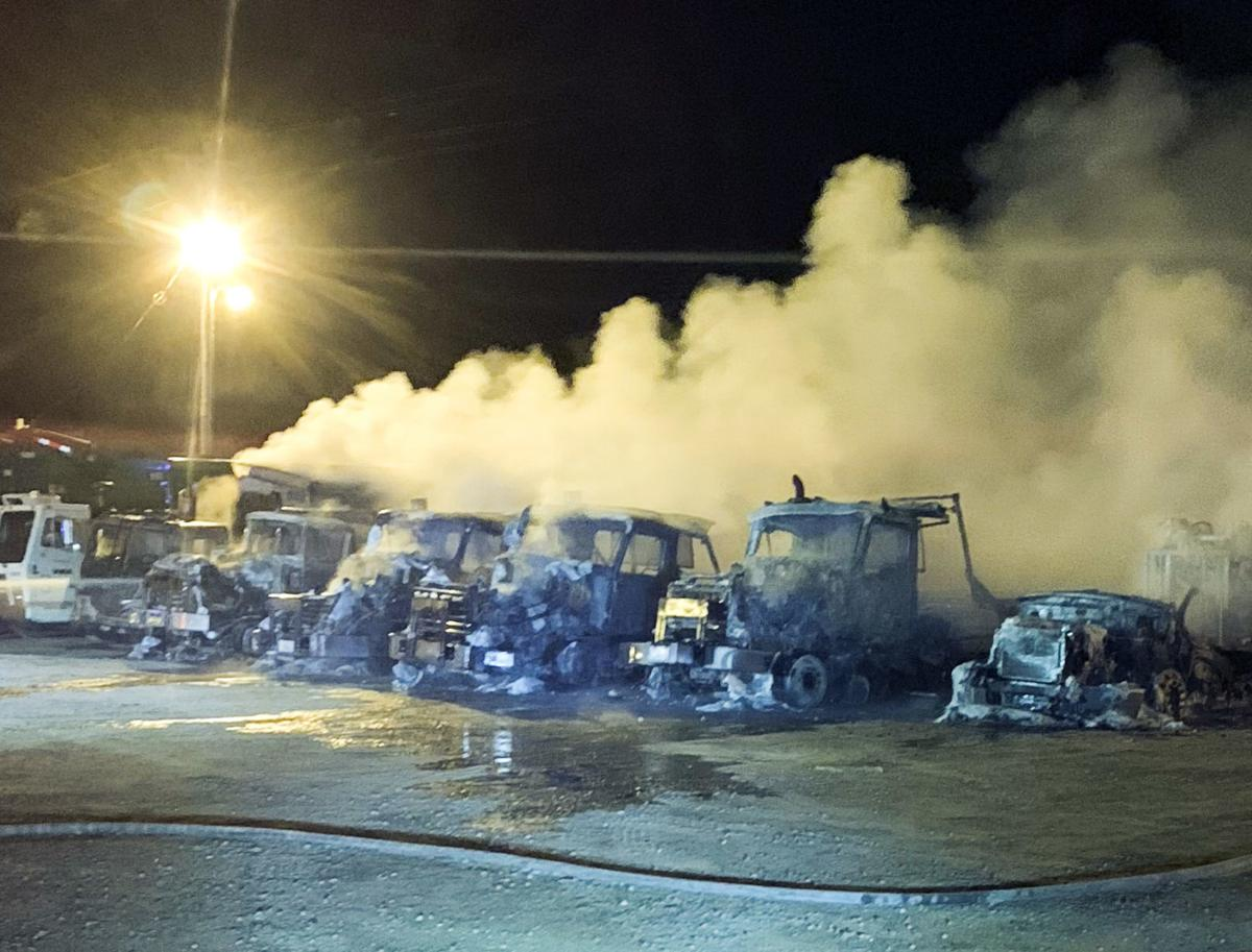 Waste Management Fire