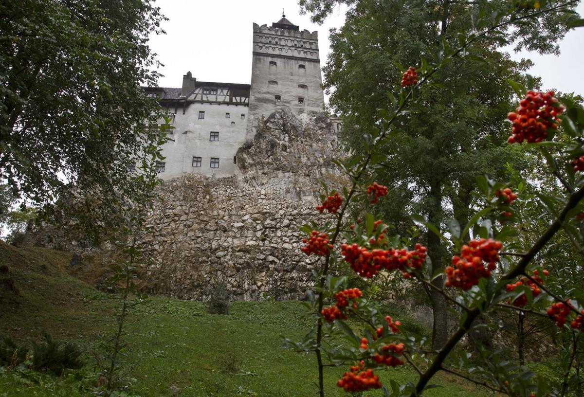 Virus Outbreak Romania Dracula Castle