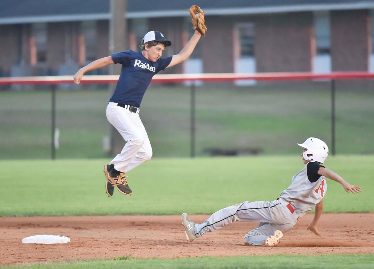Play at second in Pony League tournament