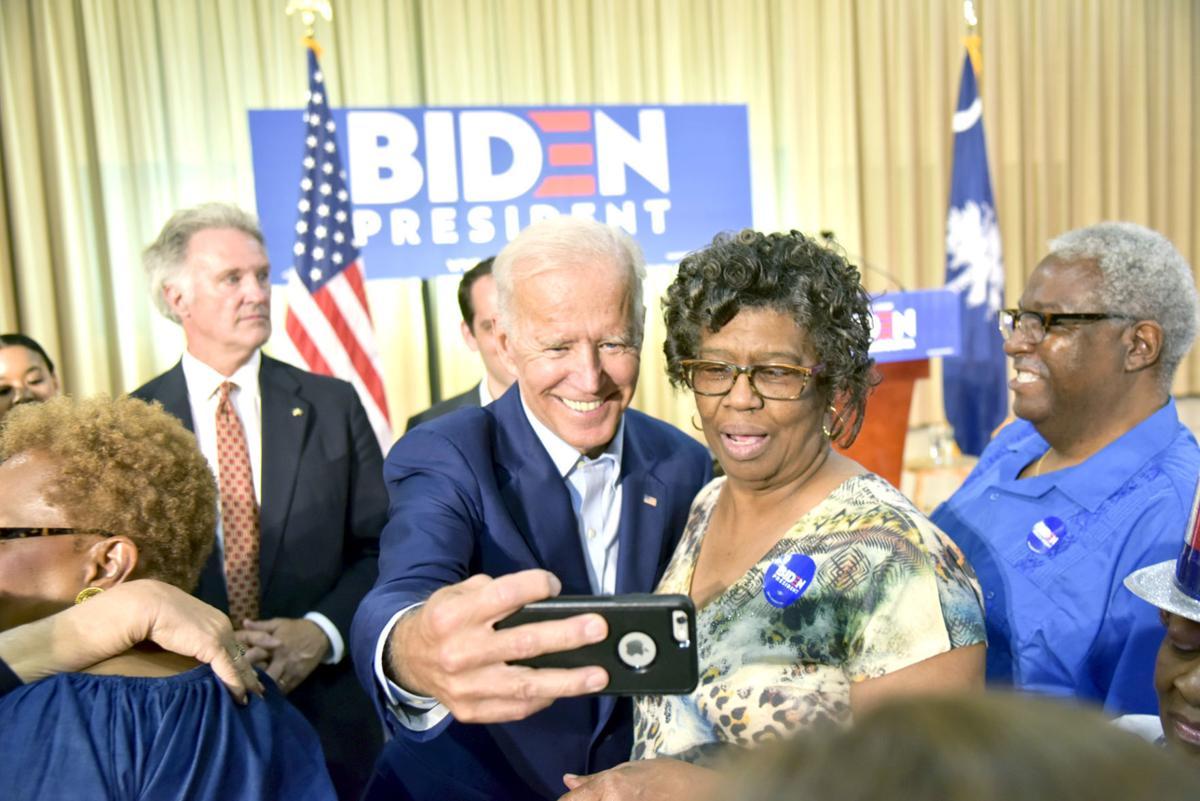 Biden in Orangeburg