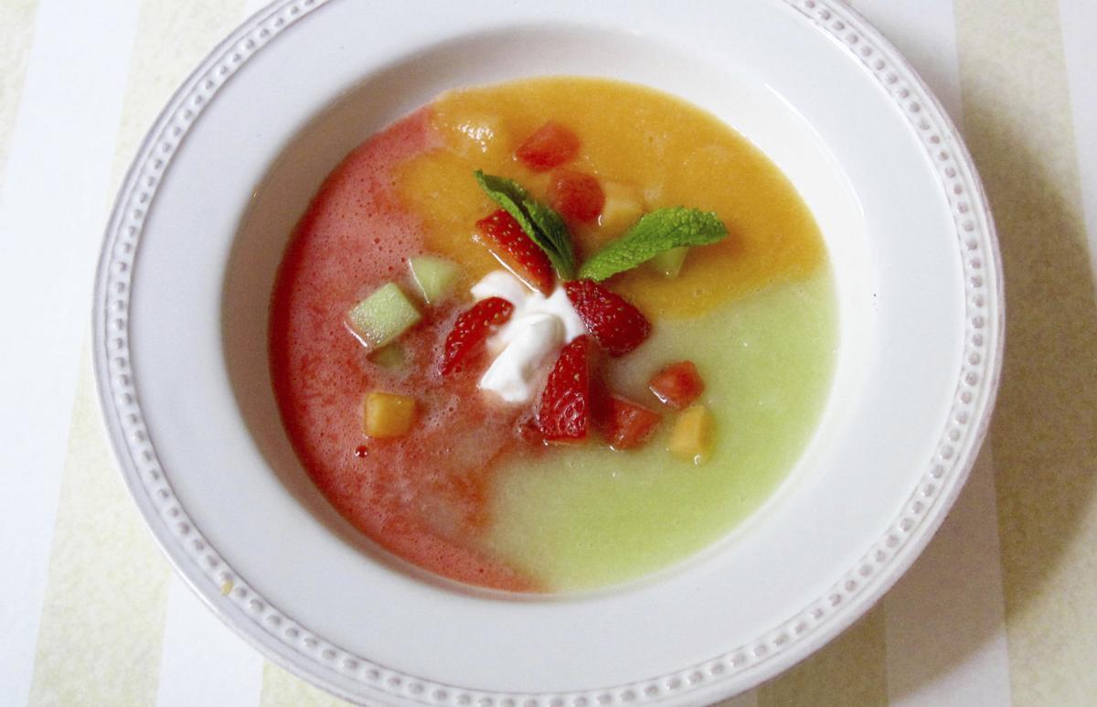 Food KitchenWise Three Melon Soup