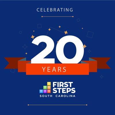 090619 first steps 20th logo