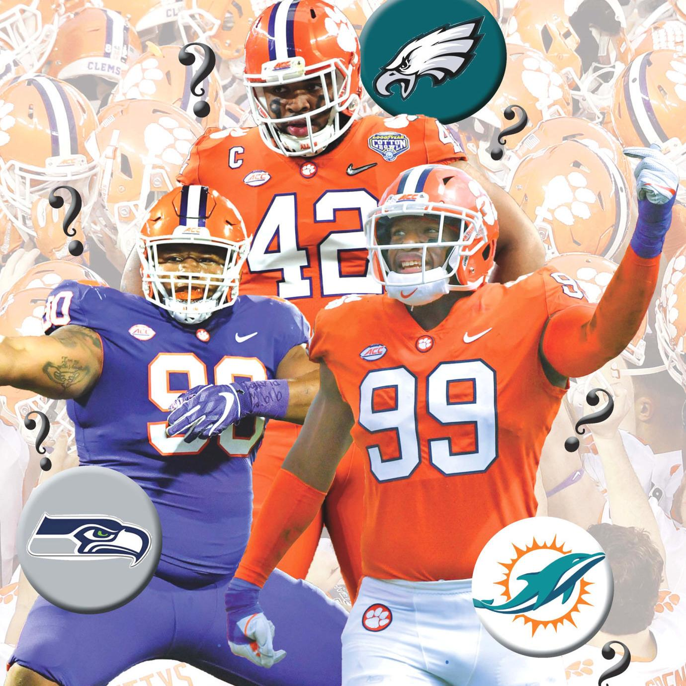 902bfd9f CLEMSON FOOTBALL: 3 Tigers may go in first round NFL Draft | Sports ...