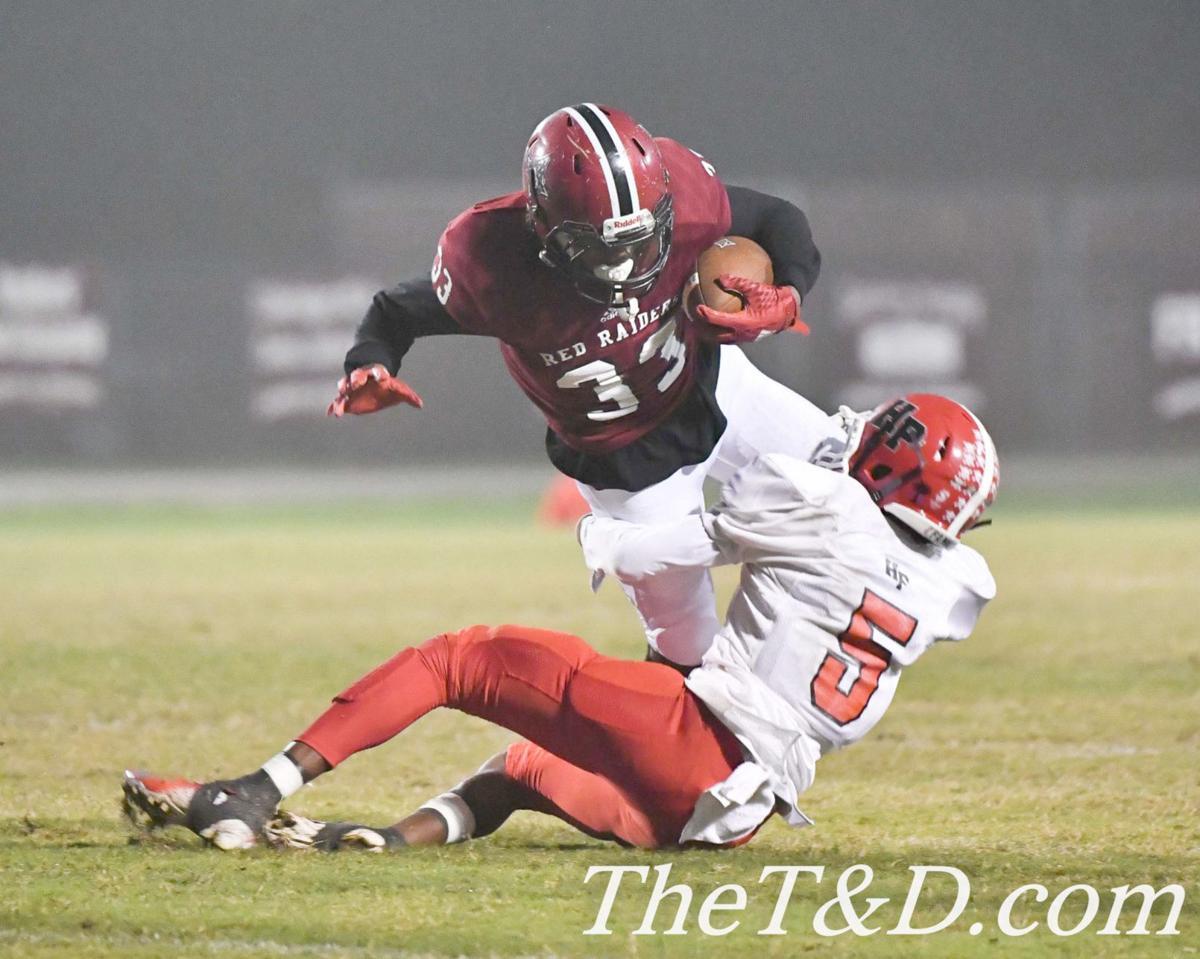 Wilkins runs the ball against H-P