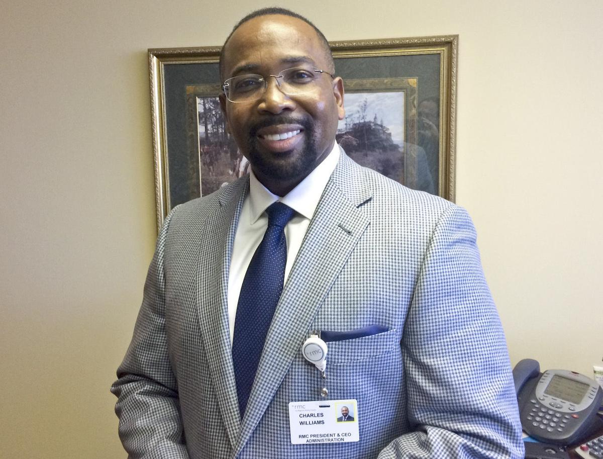 RMC President/CEO Charles Williams
