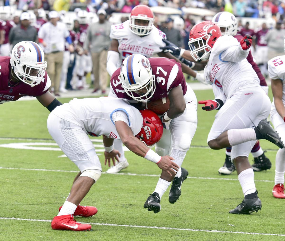 S.C. STATE FOOTBALL: Bulldogs notch first 2018 home win in ...