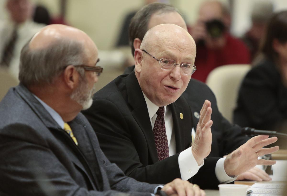 Ray Cross at Joint Finance Committee