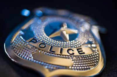 Cops illustration badge