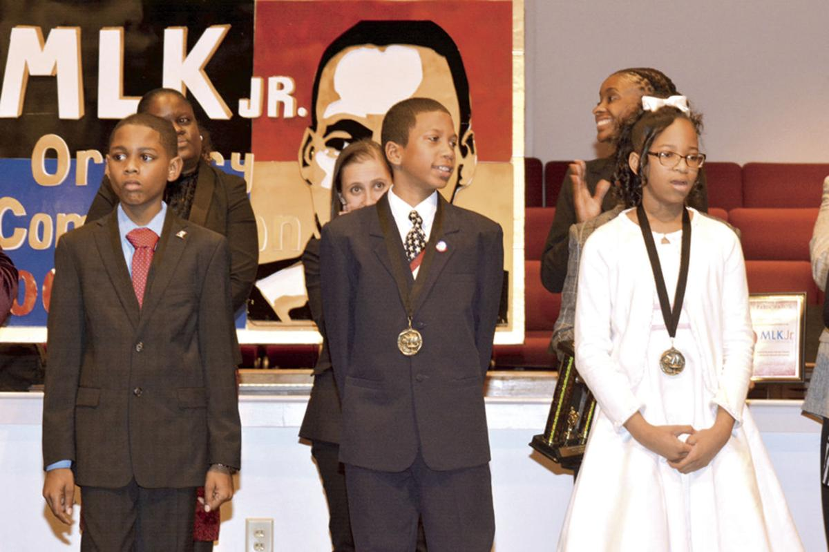 MLK Oratory competition