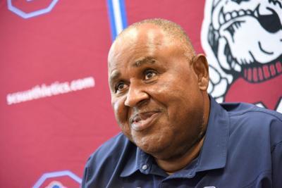 S.C. State Coach Pough