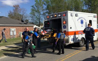 Vehicle hits home