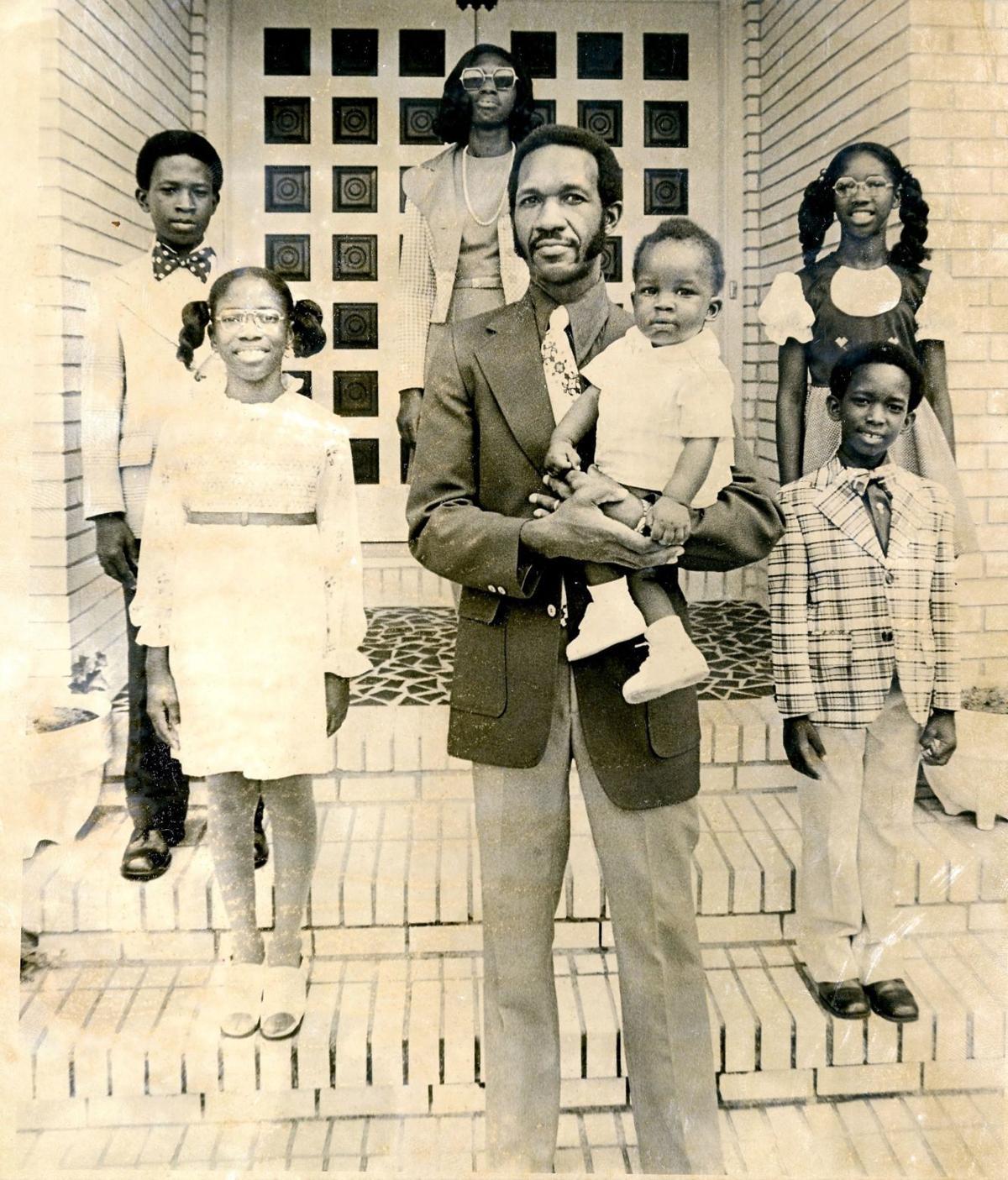 Matthews family in 1974