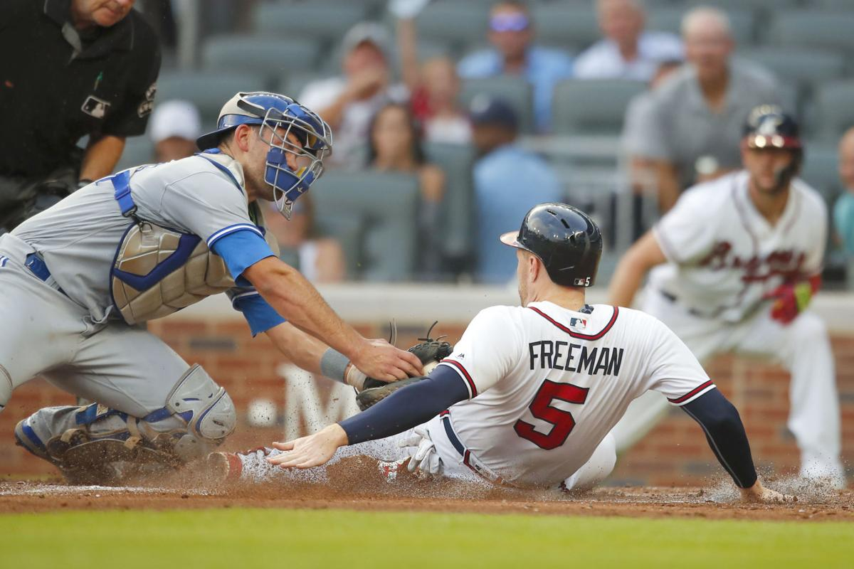 Blue Jays Braves Baseball