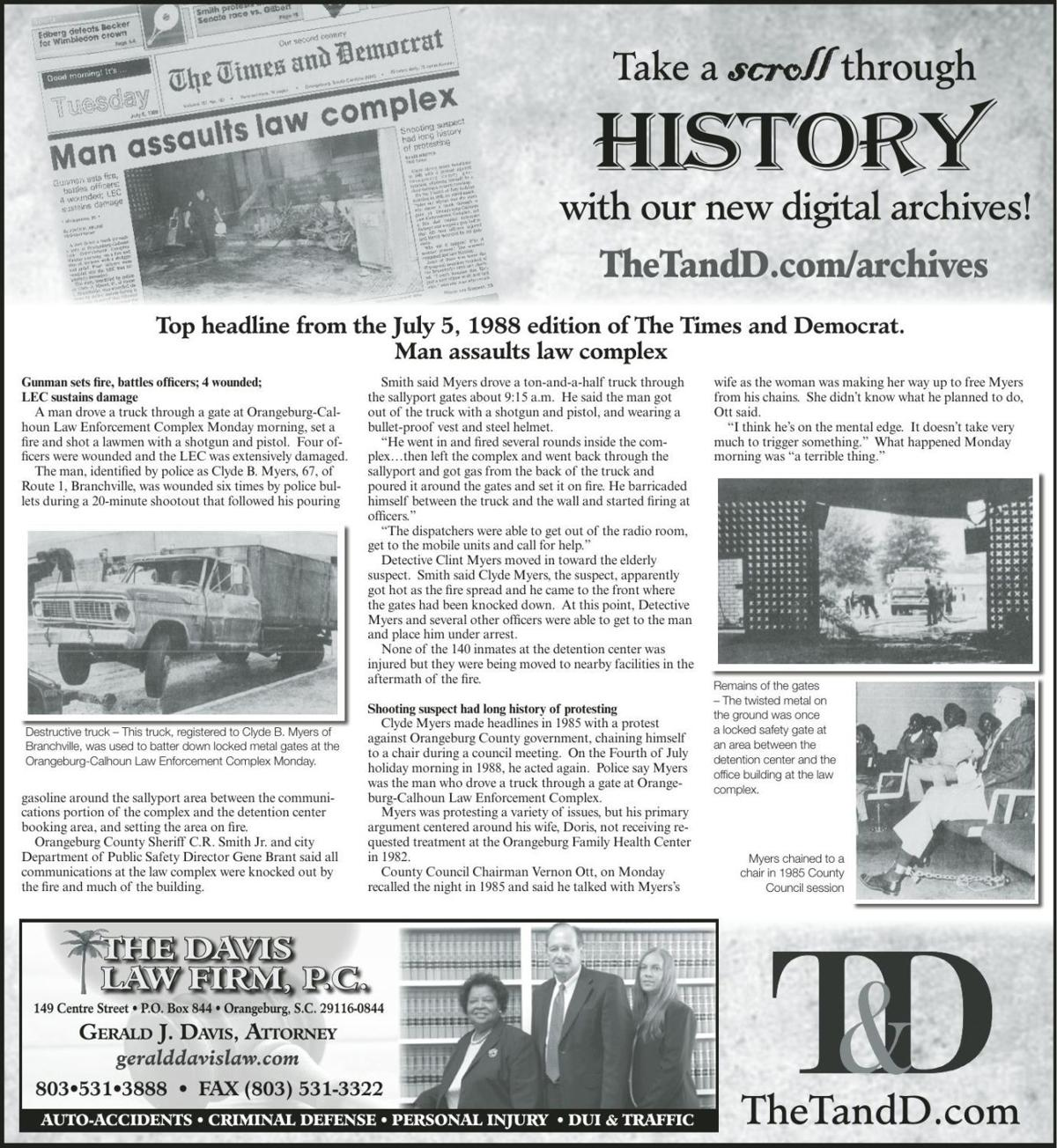 TheTandD.com/archives July 7, 2019