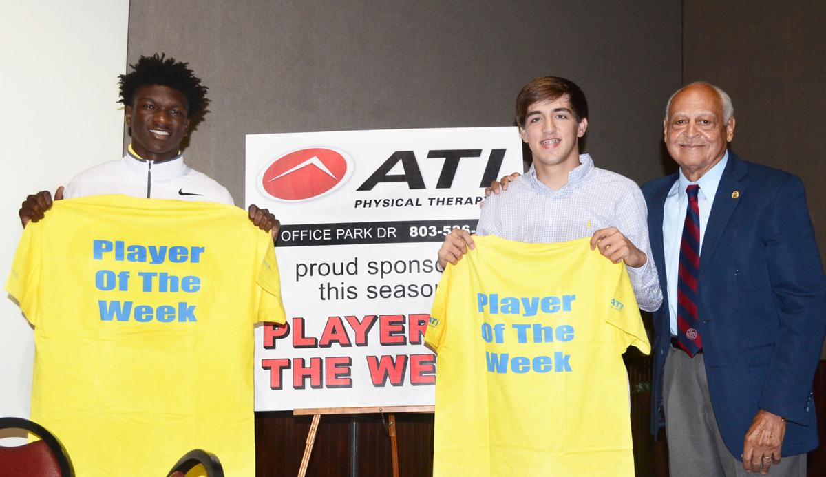 Players of the week - Oct. 19