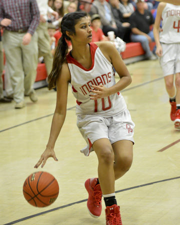 Orangeburg Prep vs. Cardinal Newman girls basketball 120314