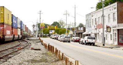 Railroad corner