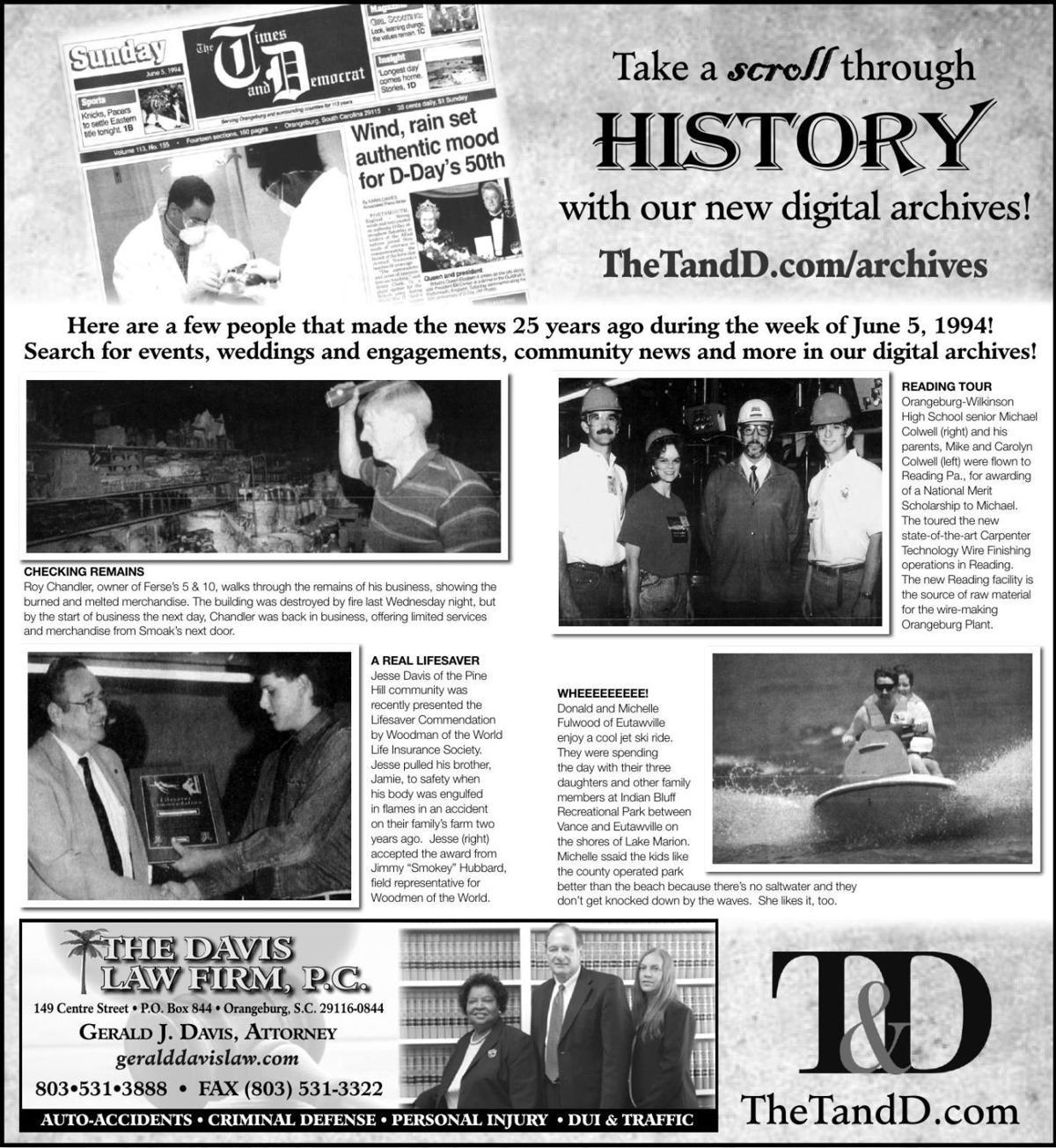 TheTandD.com/archives June 9, 2019