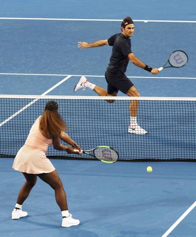 Australian Open Serena Roger Tennis