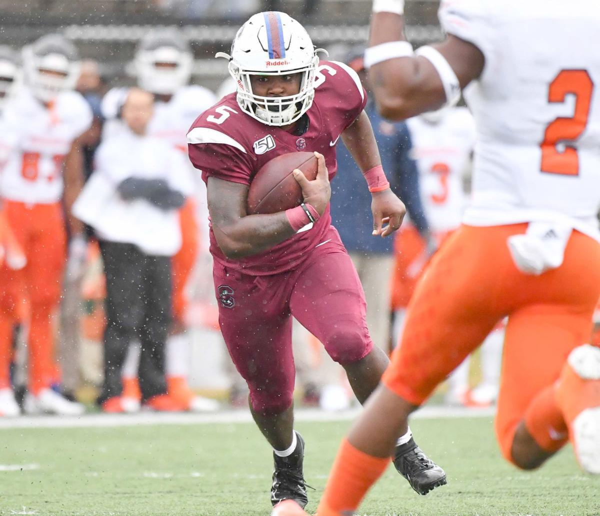 Morris runs for SC State