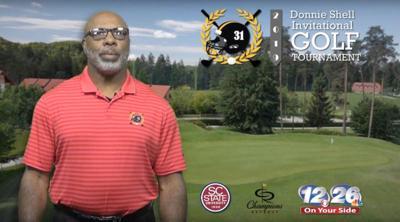 Donnie Shell golf