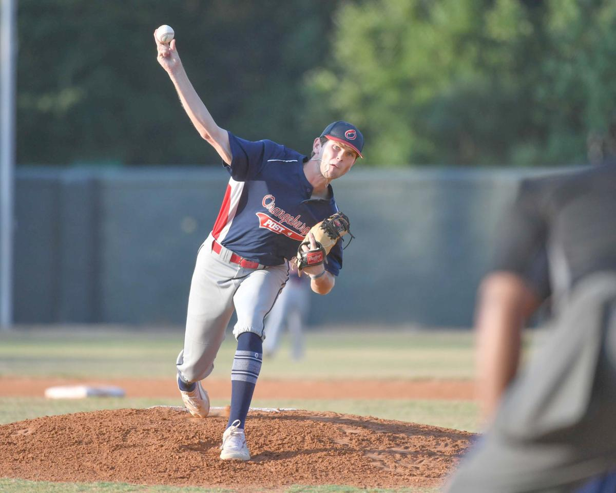 Thompson pitches for Post 4 against Aiken