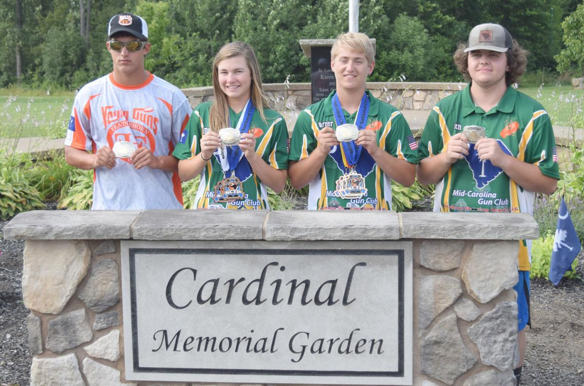SC All-State team at the Scholastic Clay Target Program National Championship