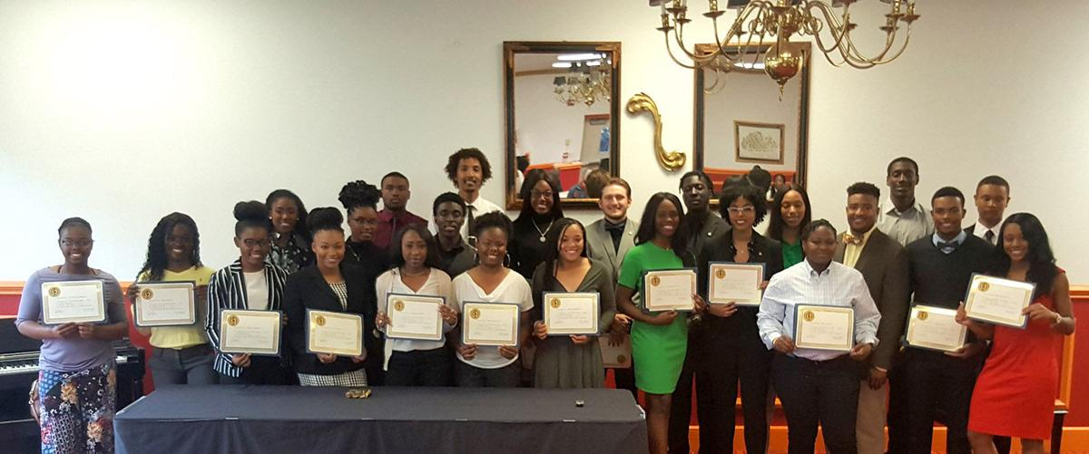Claflin Chi Alpha Sigma National Collegiate Athlete Honor Society class of 2018