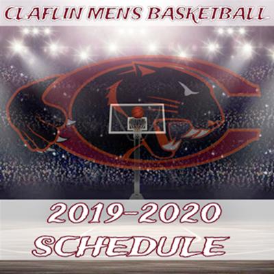 Claflin men's basketball sked 2019-20
